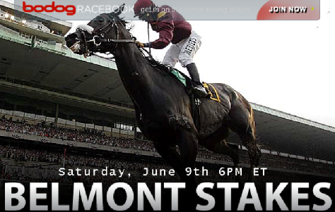 Online betting belmont stakes