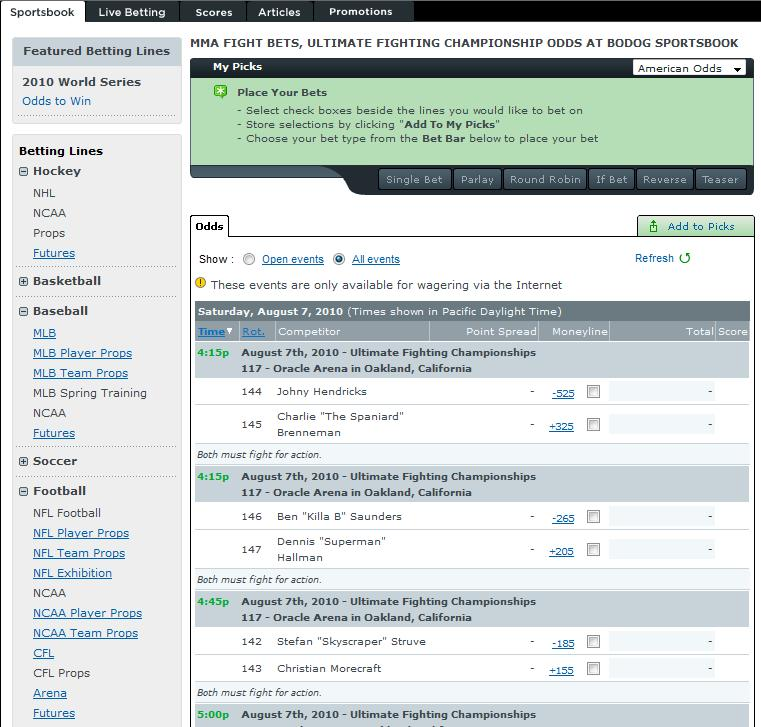 online betting on sports all day sports book